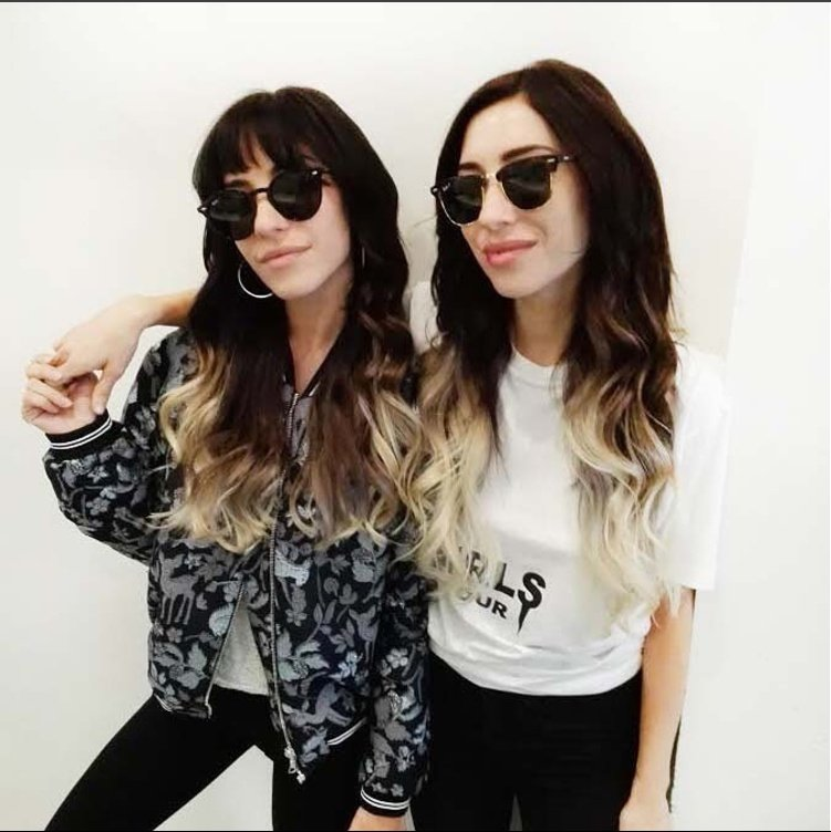 Kiki Hair Extensions Clients Lisa Jessica From The Veronicas Yelp
