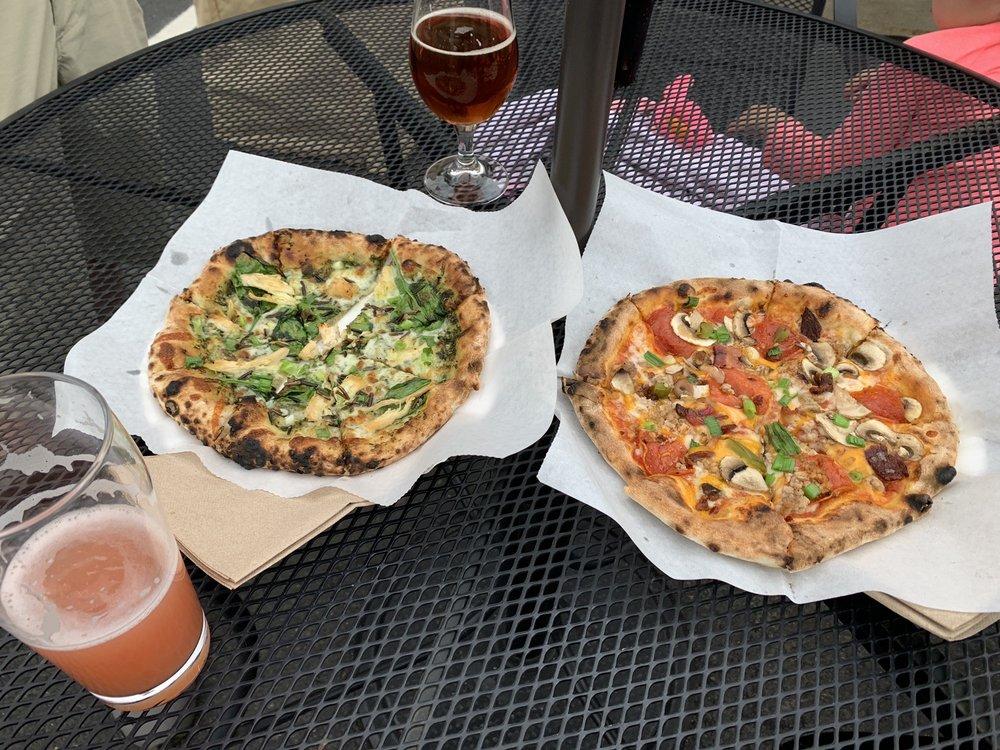 Log Home Wood Fired Pizza: McGregor, MN
