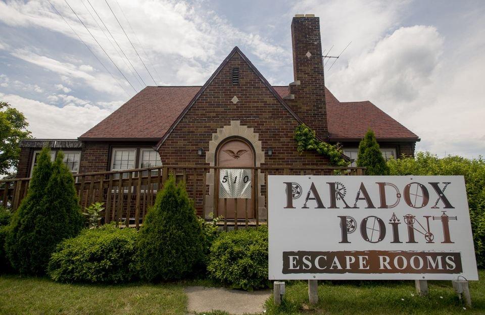 Paradox Games And Escape Rooms