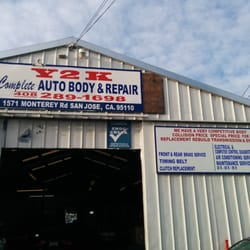 World auto body and repair closed body shops 1571 for United motors san jose
