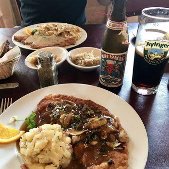 Photo Of Alpine Haus Restaurant New Braunfels Tx United States Veal Jager