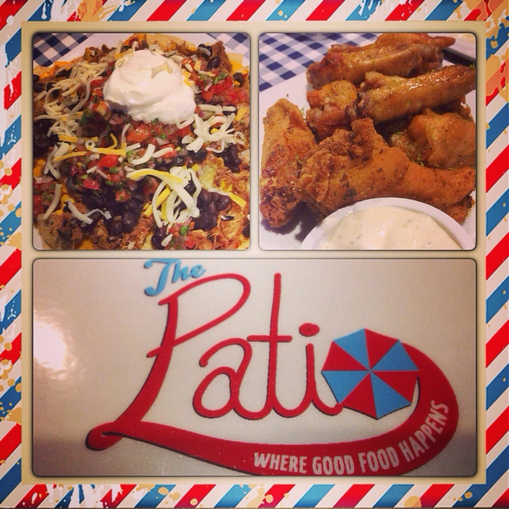 The patio restaurant sports bar order food online 67 for Food bar wilshire