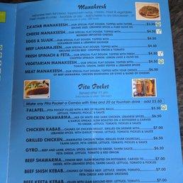 Cedar Mediterranean Restaurant Rochester Ny Menu