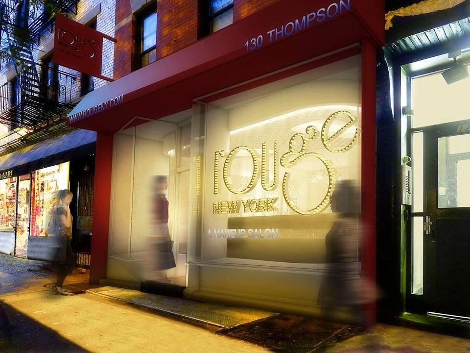 Rouge Makeup Salon: 130 Thompson St, New York, NY