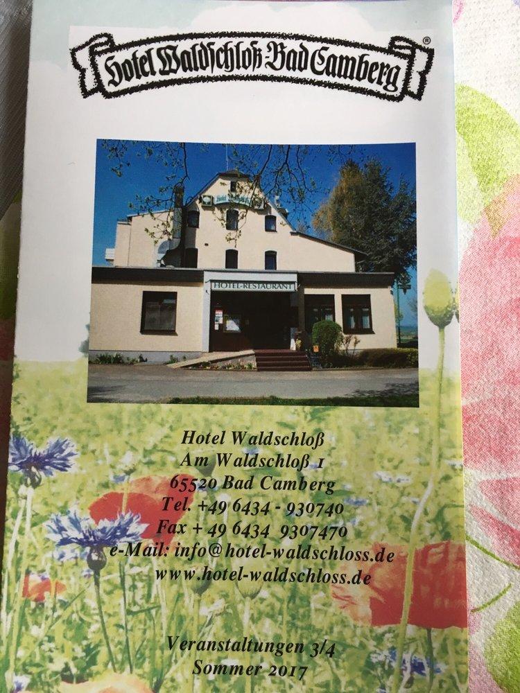 Hotel Waldschloss Am Waldschlo Ef Bf Bd  Bad Camberg