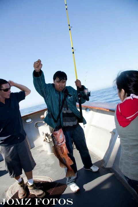 My first catch ever yelp for Marina del rey fishing report