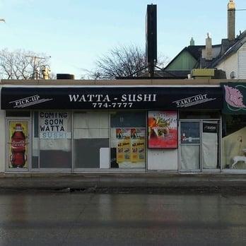 watta sushi japanese 837 sherbrook st winnipeg mb canada restaurant. Black Bedroom Furniture Sets. Home Design Ideas