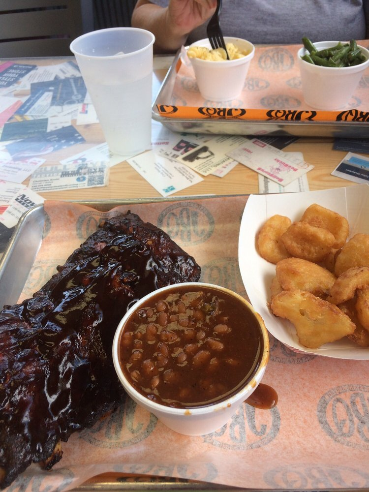 Jimmy's Backyard BBQ: 291 W Main St, Carrollton, OH
