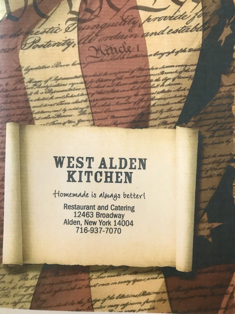 West Alden Kitchen: 12463 Broadway St, Alden, NY