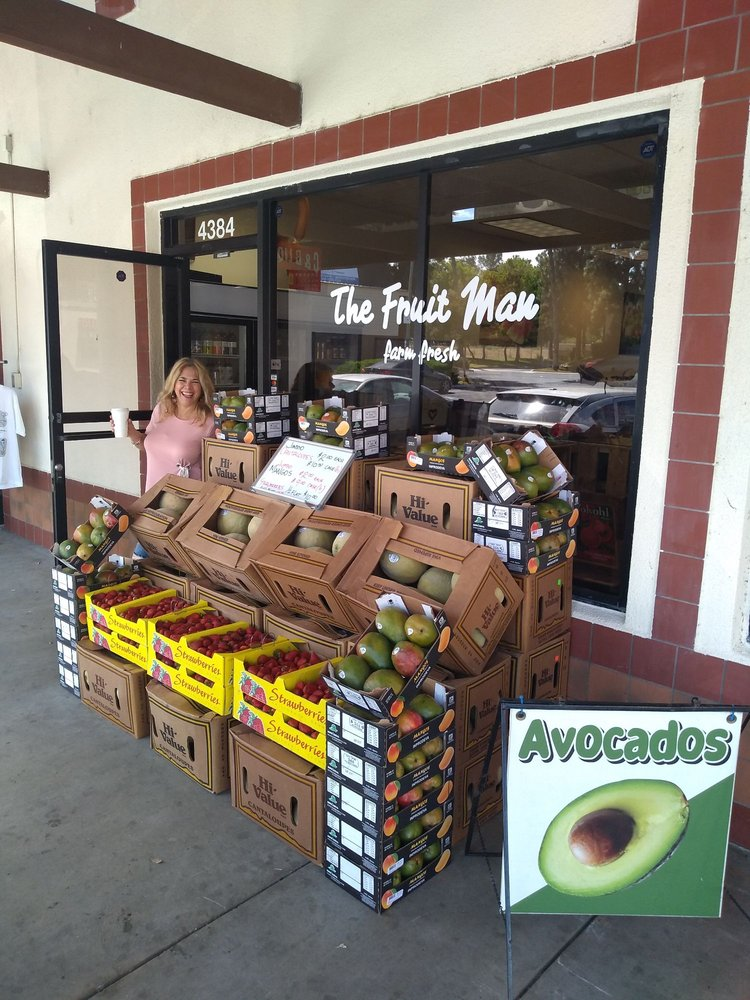 The Fruit Man: 4384 Tequesquite Ave, Riverside, CA