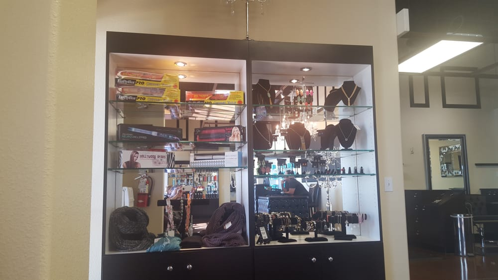 Beautiful displays on product ect yelp for A cut above salon las vegas