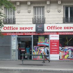 office depot 60 boulevard de magenta canal st martin gare de l 39 est paris. Black Bedroom Furniture Sets. Home Design Ideas