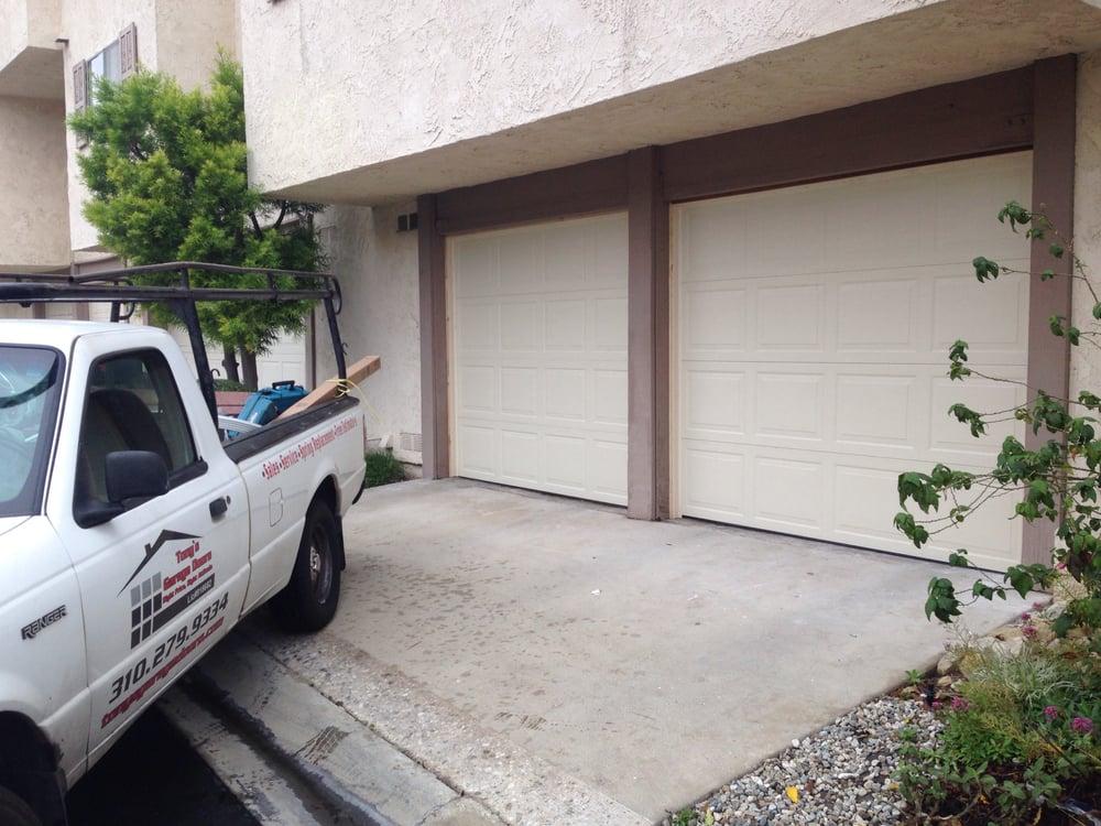 Two wayne dalton model 9600 we just installed in palos for Garage door repair torrance