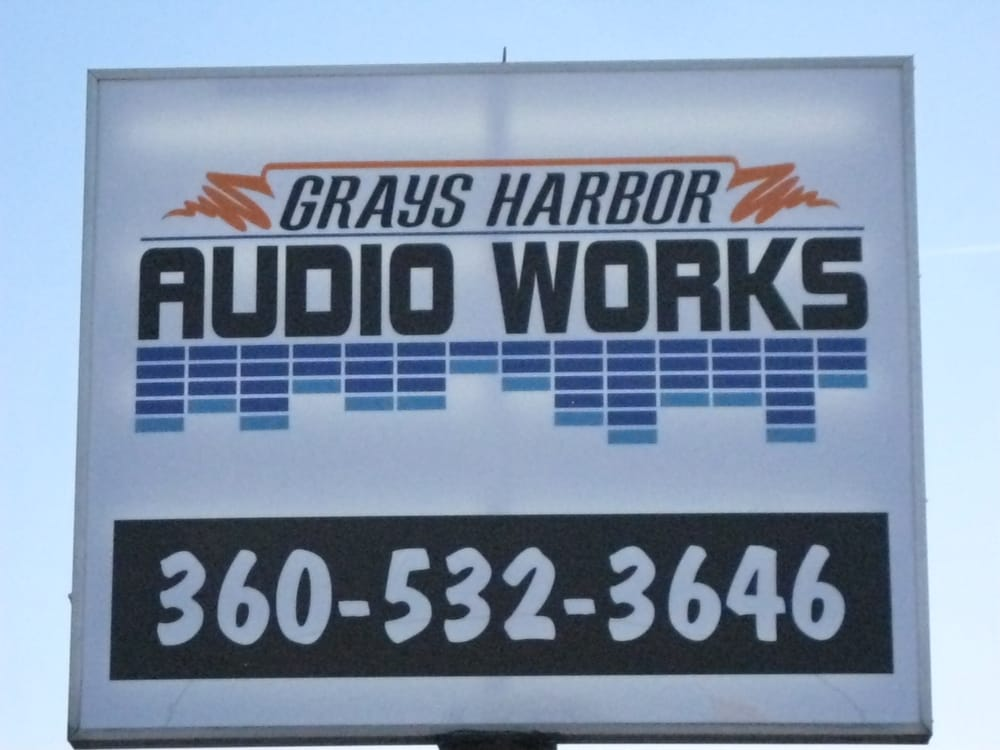 Grays Harbor Audio Works: 2616 Simpson Ave, Hoquiam, WA