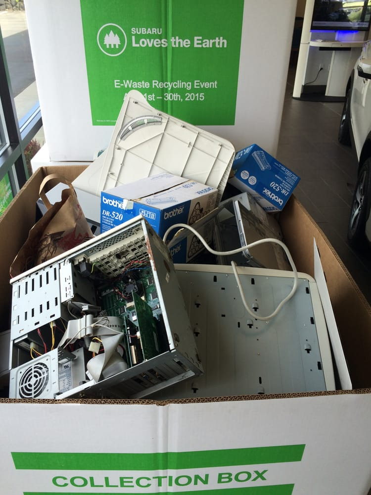 Electronics recycling program yelp for Hanson motors used cars
