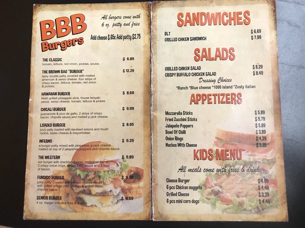 Photo Of The Brown Bag Burger Yuma Az United States
