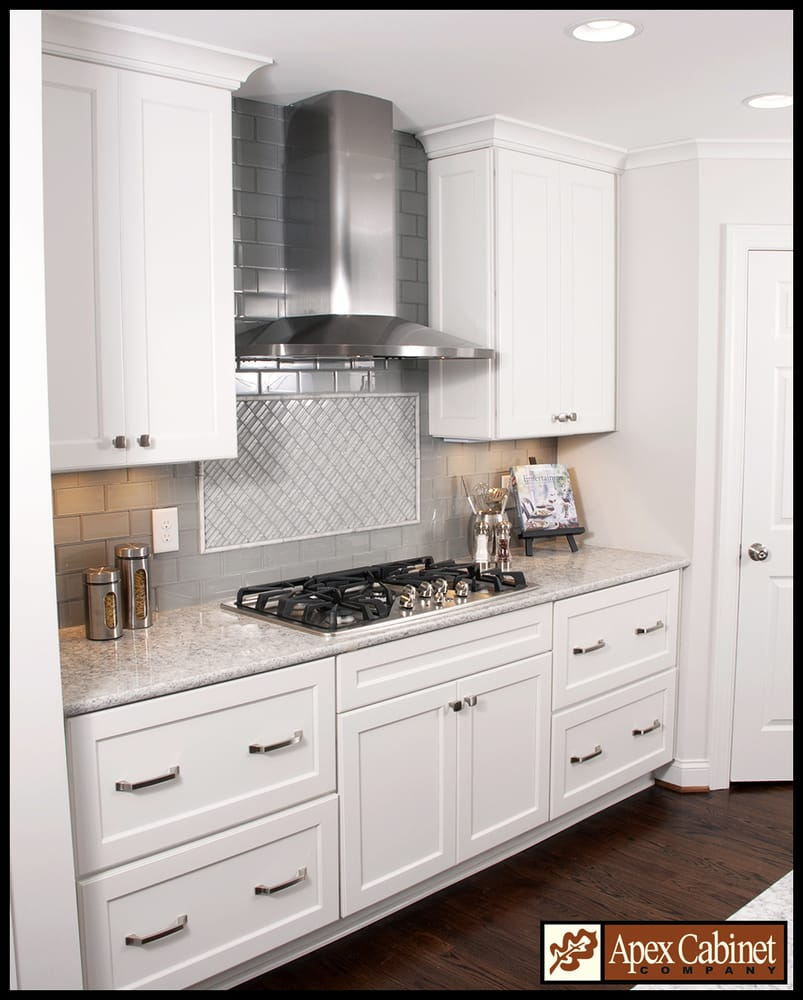 kitchen - pinewood dr. apex diamond vibe cabinets - caito