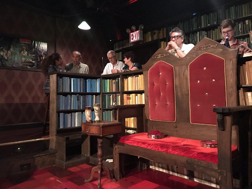 Drunk Shakespeare: 711 7th Ave, New York, NY