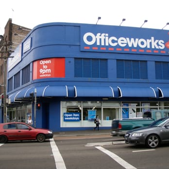 Officeworks  Printing  Photocopying  1 Ross St Forest Lodge