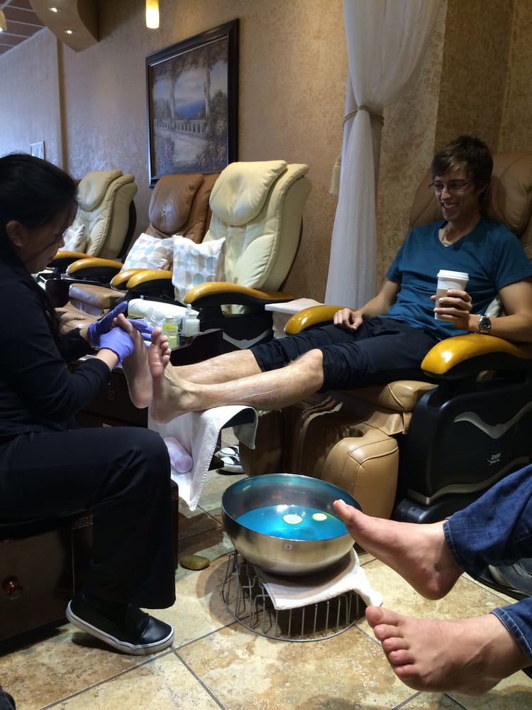 My boyfriends pedicure was a great experience! - Yelp