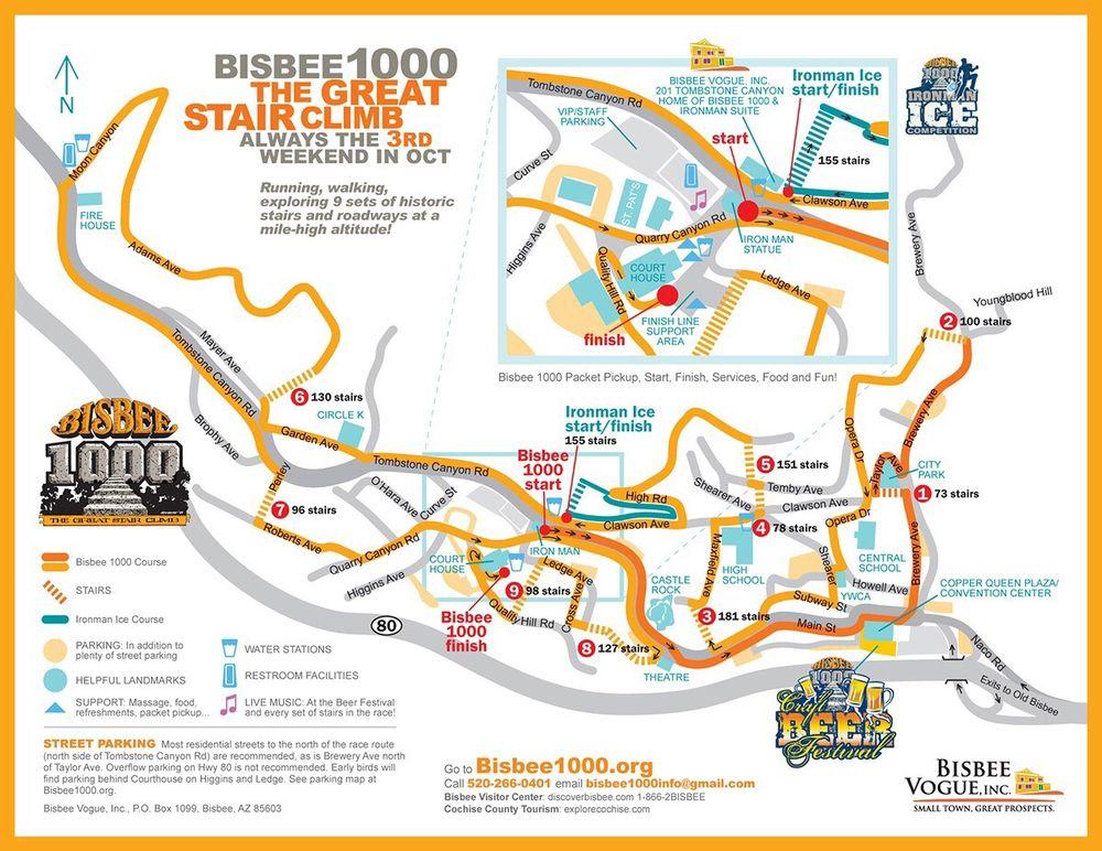 Bisbee Az Map Course map   Yelp Bisbee Az Map