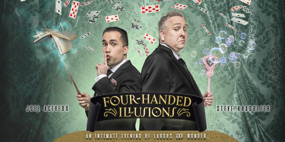 Four-Handed Illusions: An Intimate Evening of Laughs and Wonder