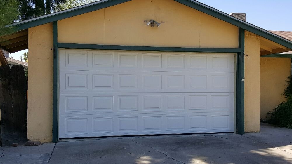After Photo Standard 15x7 Short Panel White Doorlink Model