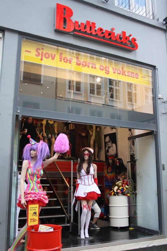 udklædningsbutik strøget