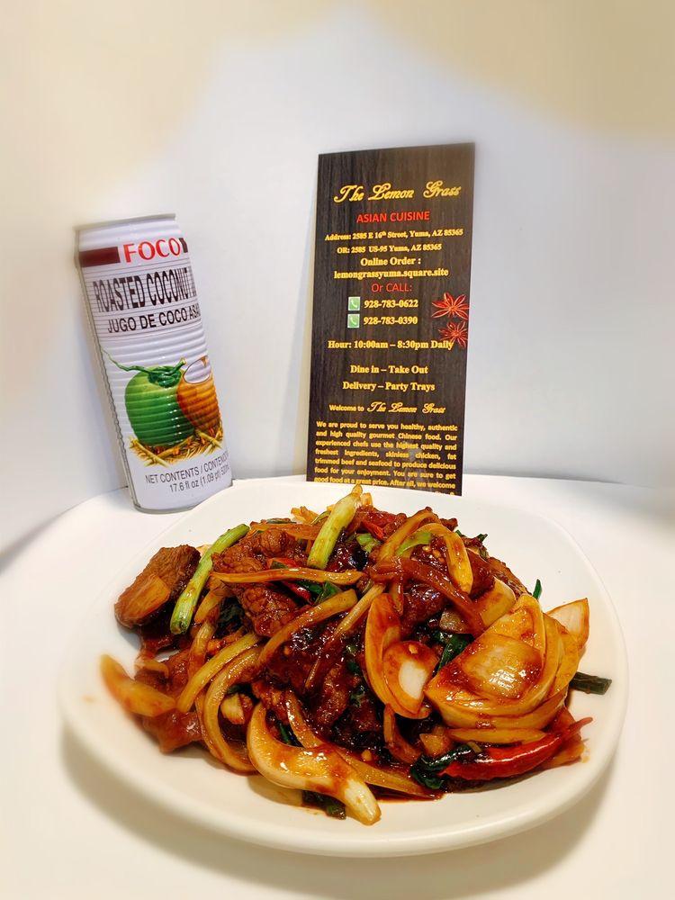The Lemongrass Asian Cuisine: 2585 E 16th St, Yuma, AZ