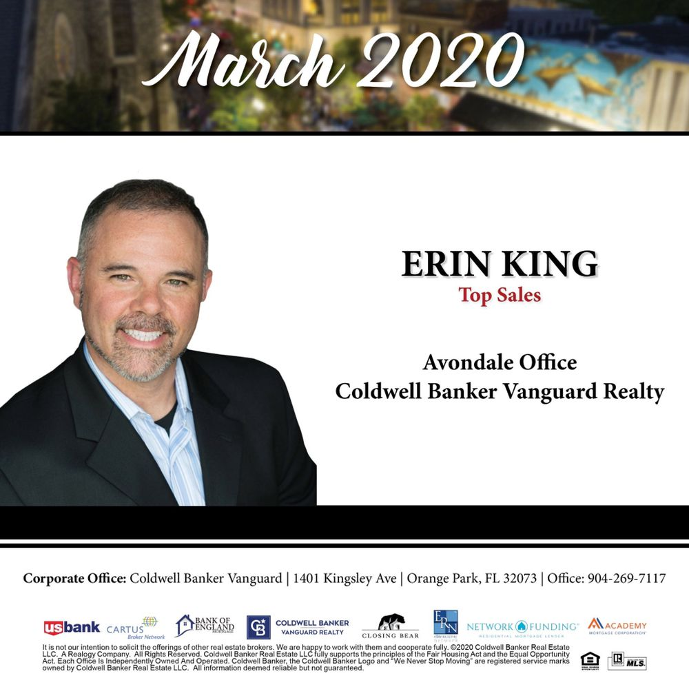 Coldwell Banker Vanguard Realty - Erin E King MBA REALTOR