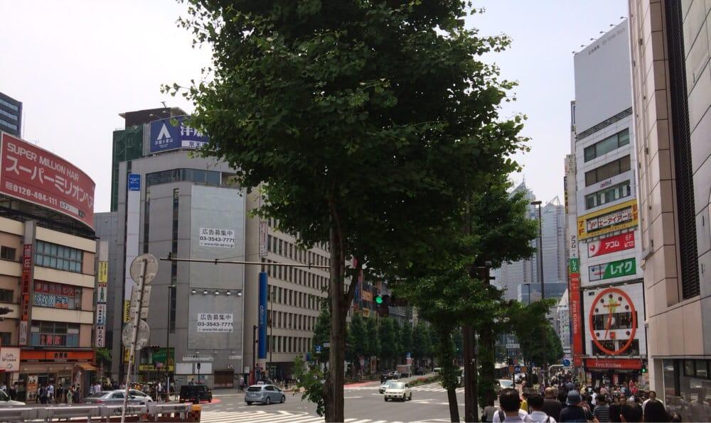 Shinjuku jīesuhaimu satoubiru
