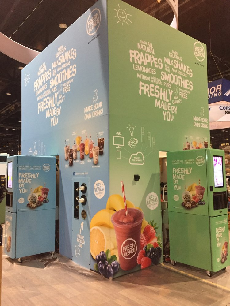 Trade Show Booth Loop : Hook and loop folding panel display with header dotradeshow