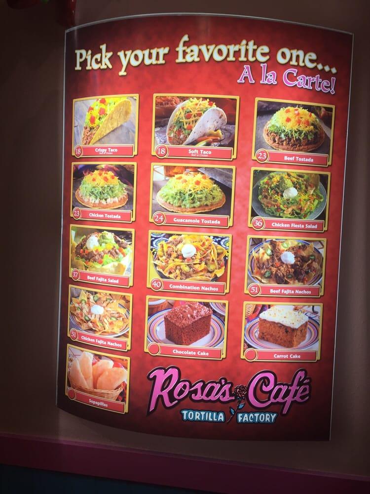Rosa S Cafe Menu Nachos