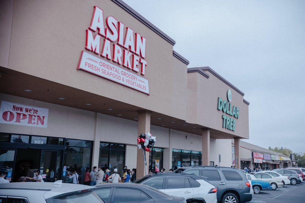 Asian Market: 2425 McHenry Ave, Modesto, CA