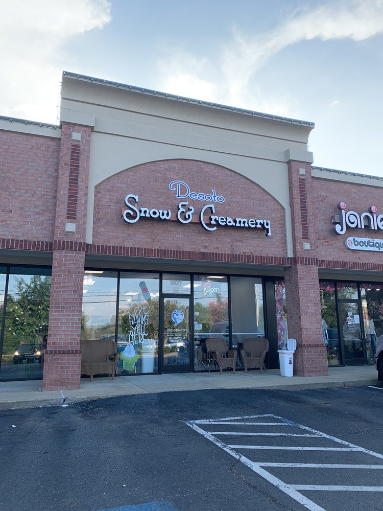 Desoto Snow And Creamery: 5627 Getwell Rd, Southaven, MS