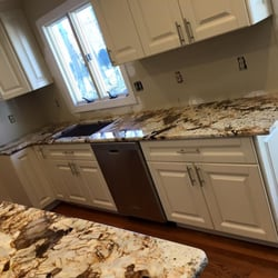 Photo Of Architecture Stones   Rockville, MD, United States. Cream Cabinets  Complimented By