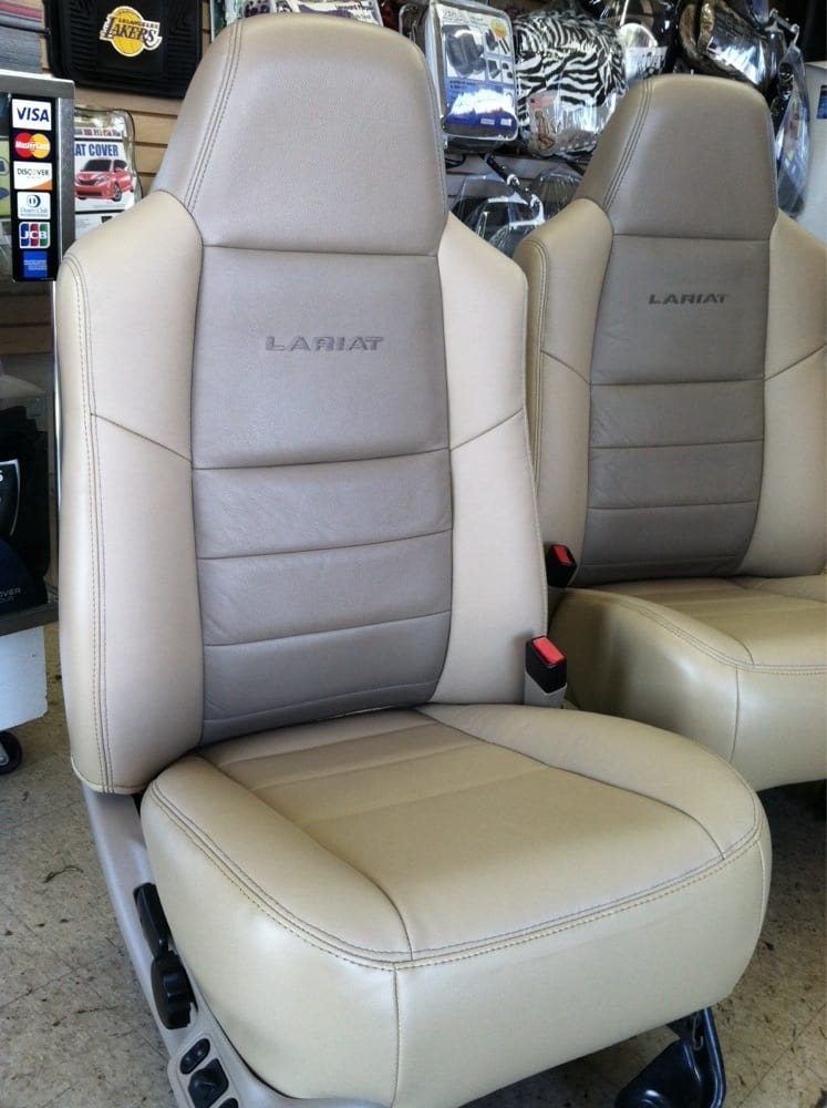 Ivory Leather Seats Reupholstery Yelp