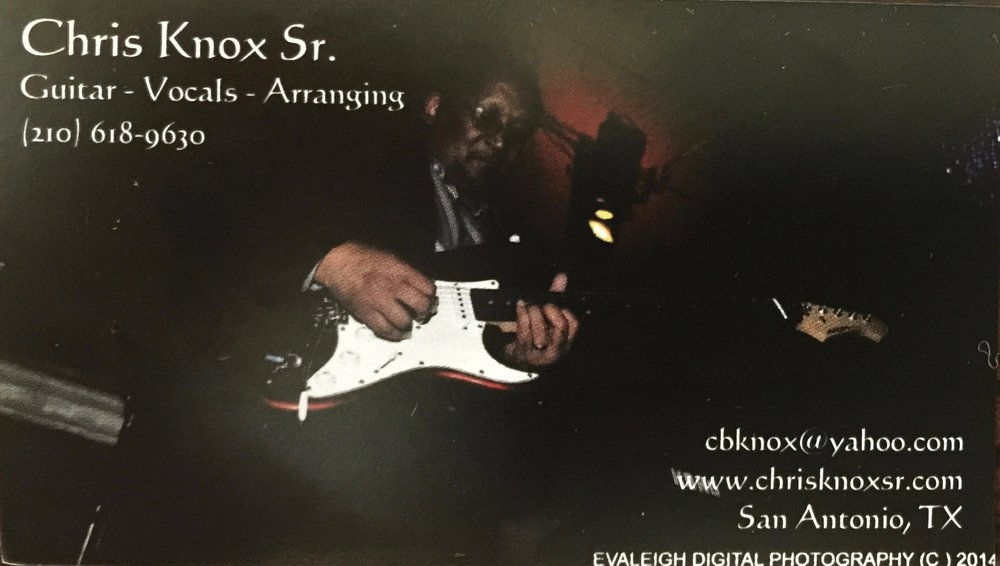Chris Knox Sr Guitarist