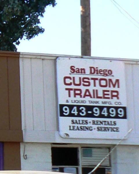 Encinitas 101 Mainstreet Association: San Diego Custom Trailer