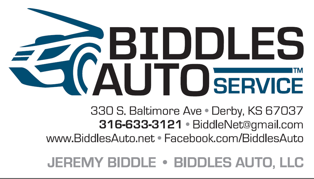 Biddles Auto Services: 330 S Baltimore Ave, Derby, KS