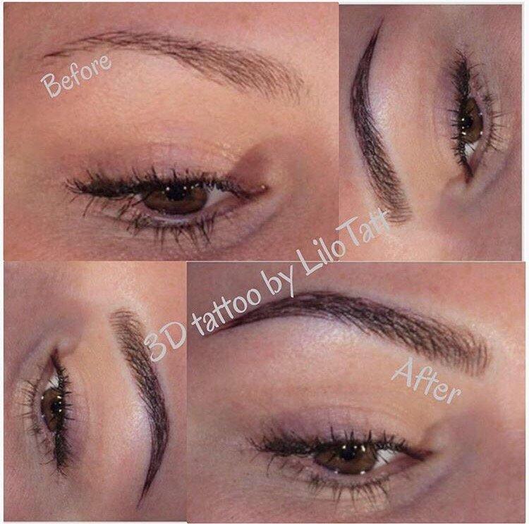 3d Eyebrows Micropigmentation By Lilotatt Yelp