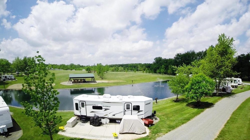 Back 40 Campground: 959 County Hwy 111 E, Rushsylvania, OH