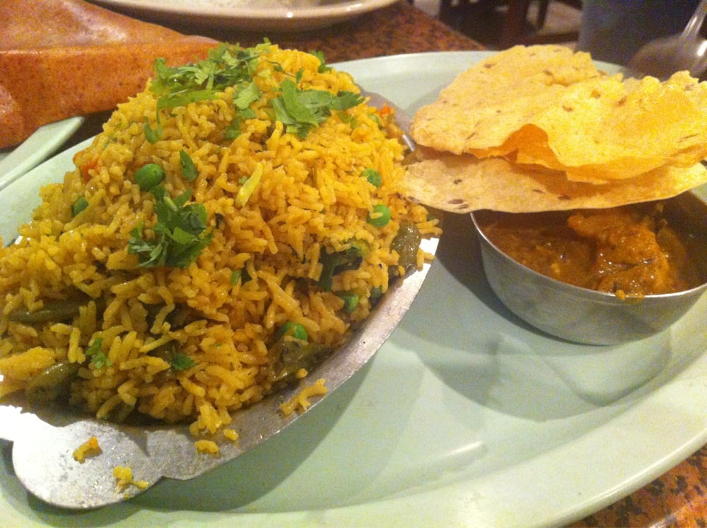Vegetable briyani yelp for Annapurna cuisine