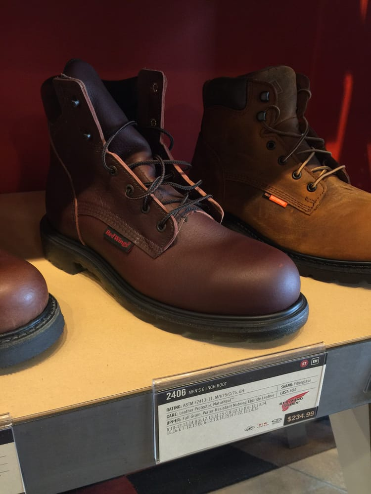 44ec7e130b3 2406 Red Wing Steel Toe Boots in Brown - Yelp