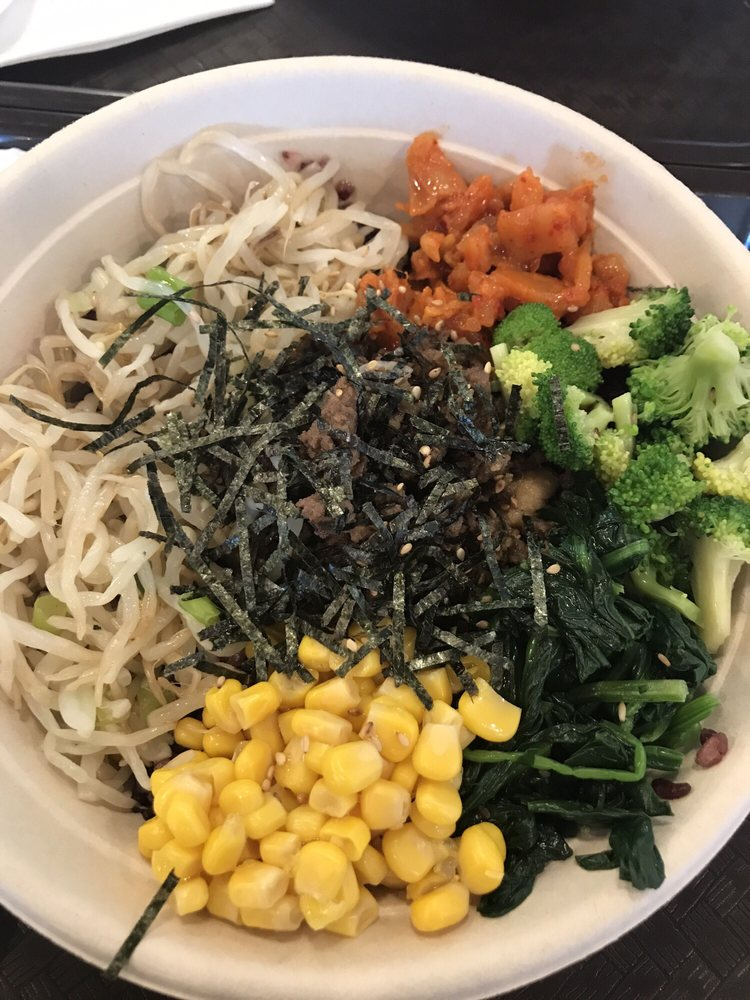 Classic bowl - half chicken and beef bulgogi - Yelp