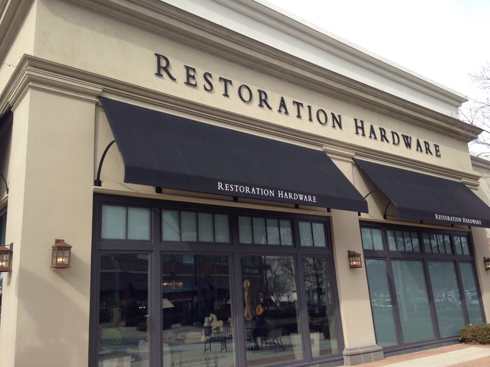 Restoration hardware furniture stores 8030 renaissance for Restoration hardware online shopping
