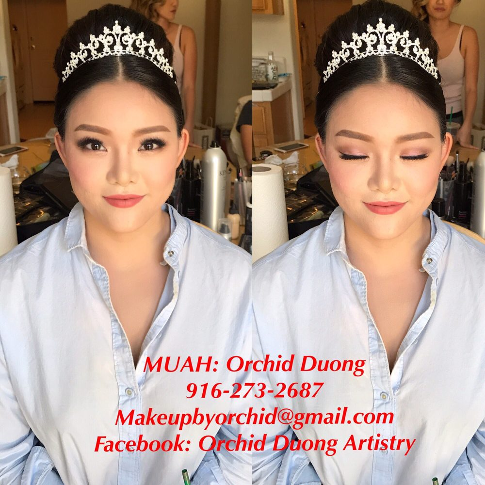 Muah Orchid Duong Traditional Korean Bridal Hairstyle Yelp