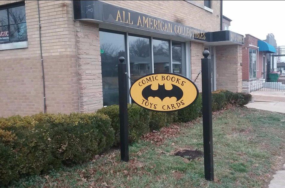 Mo's Comics & Stories Shop: 6933 Hampton Ave, Saint Louis, MO