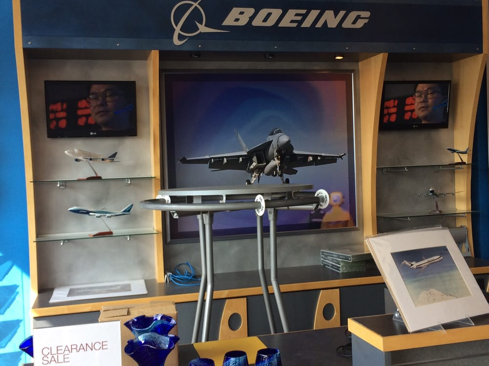 The Boeing Store: 325 James S. McDonnell Blvd, Hazelwood, MO