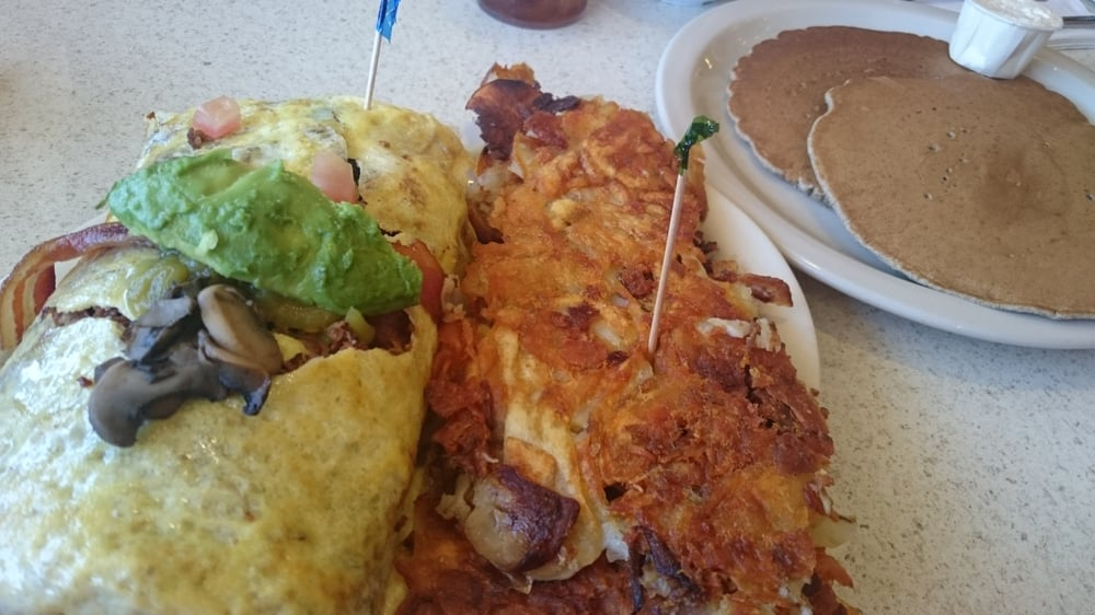 California Omelet No Cheese Add Mushrooms Amp Ortega